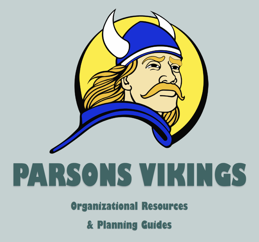 Parsons Vikings Organizational Resources & Planning Guides
