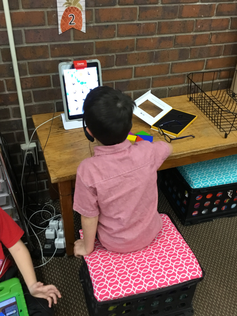 Working with shapes on the Osmo