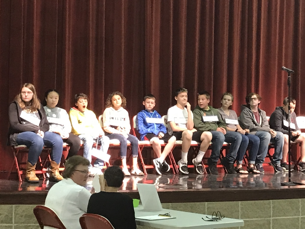 2019 Labette County Spelling Bee