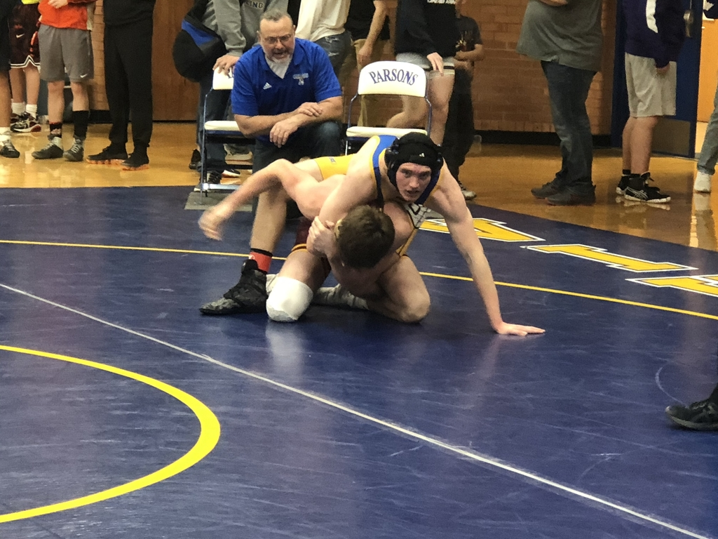 Jaden Malson with the win. PHS Wrestling